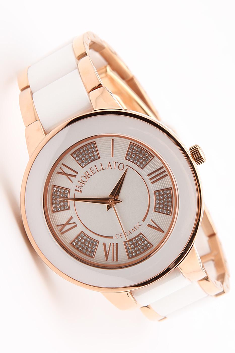 Часы наручные женские Morellato Roma, цвет: бело-золотой. R0153118503R0153118503