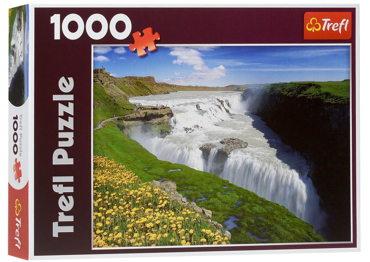Trefl Пазл Золотой водопад Исландия10314Пазл Trefl Золотой водопад, Исландия с красивым ландшафтом Исландии будет отличным подарком для любителей пазлов. При изготовлении своих пазлов компания Trefl использует только высококачественные, нетоксичные материалы. Для сохранности пазлов в хорошем состоянии на протяжении длительного времени их покрывают специальным составом. Пазл Trefl Ватикан, Рим, Италия станет отличным украшением комнаты и способом приятно скоротать несколько вечеров. Размер готового пазла: 68 см х 48 см.