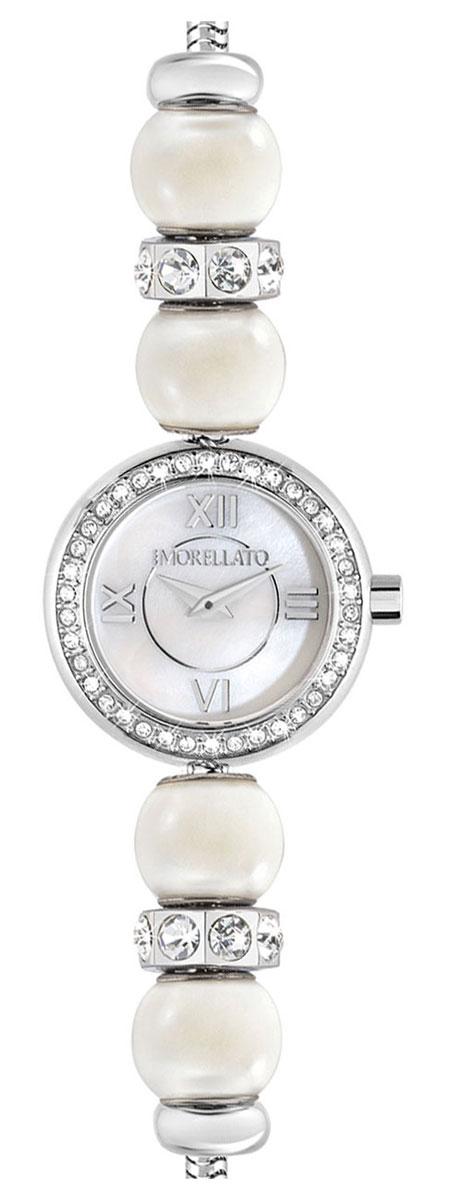 Часы наручные женские Morellato Drops Time, цвет: серебристый. R0153122520R0153122520Элегантные женские часы Morellato Drops Time изготовлены из нержавеющей стали и минерального стекла. Корпус и браслет изделия украшены стразами, браслет дополнен бусинами, имитирующими жемчужины. Корпус часов имеет степень влагозащиты равную 3 Bar, оснащен кварцевым механизмом, а также устойчивым к царапинам минеральным стеклом. Практичный замочек-карабин, предусмотренный в конструкции браслета, позволит с легкостью снимать и надевать изделие. Часы поставляются в фирменной упаковке. Часы Morellato Drops Time подчеркнут изящность женской руки и отменное чувство стиля у их обладательницы.