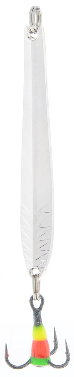 Блесна зимняя SWD, цвет: серебряный, 50 мм, 3 г48270Блесна зимняя SWD - это классическая вертикальная блесна. Выполнена из высококачественного металла. Предназначена для отвесного блеснения рыбы. Блесна оснащена тройником со светонакопительной каплей.