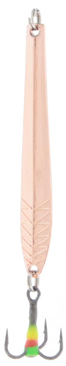 Блесна зимняя SWD, цвет: медный, 60 мм, 5 г48275Блесна зимняя SWD - это классическая вертикальная блесна. Выполнена из высококачественного металла. Предназначена для отвесного блеснения рыбы. Блесна оснащена тройником со светонакопительной каплей.