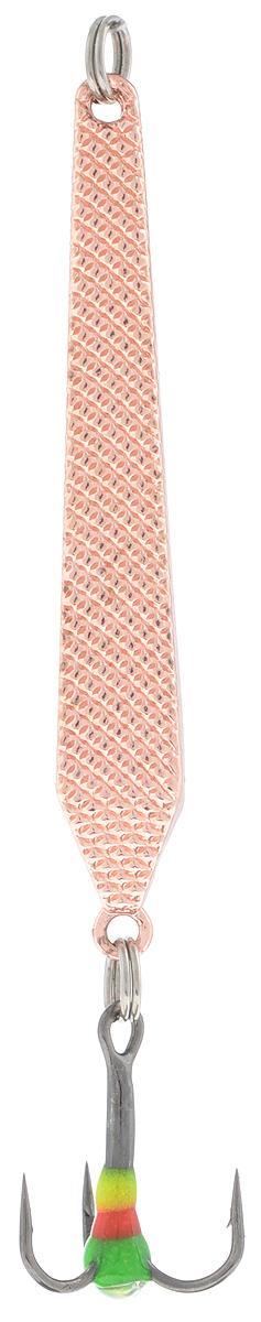 Блесна зимняя SWD, цвет: медный, 55 мм, 6 г48198Блесна зимняя SWD - это классическая вертикальная блесна. Выполнена из высококачественного металла. Предназначена для отвесного блеснения рыбы. Блесна оснащена тройником со светонакопительной каплей.