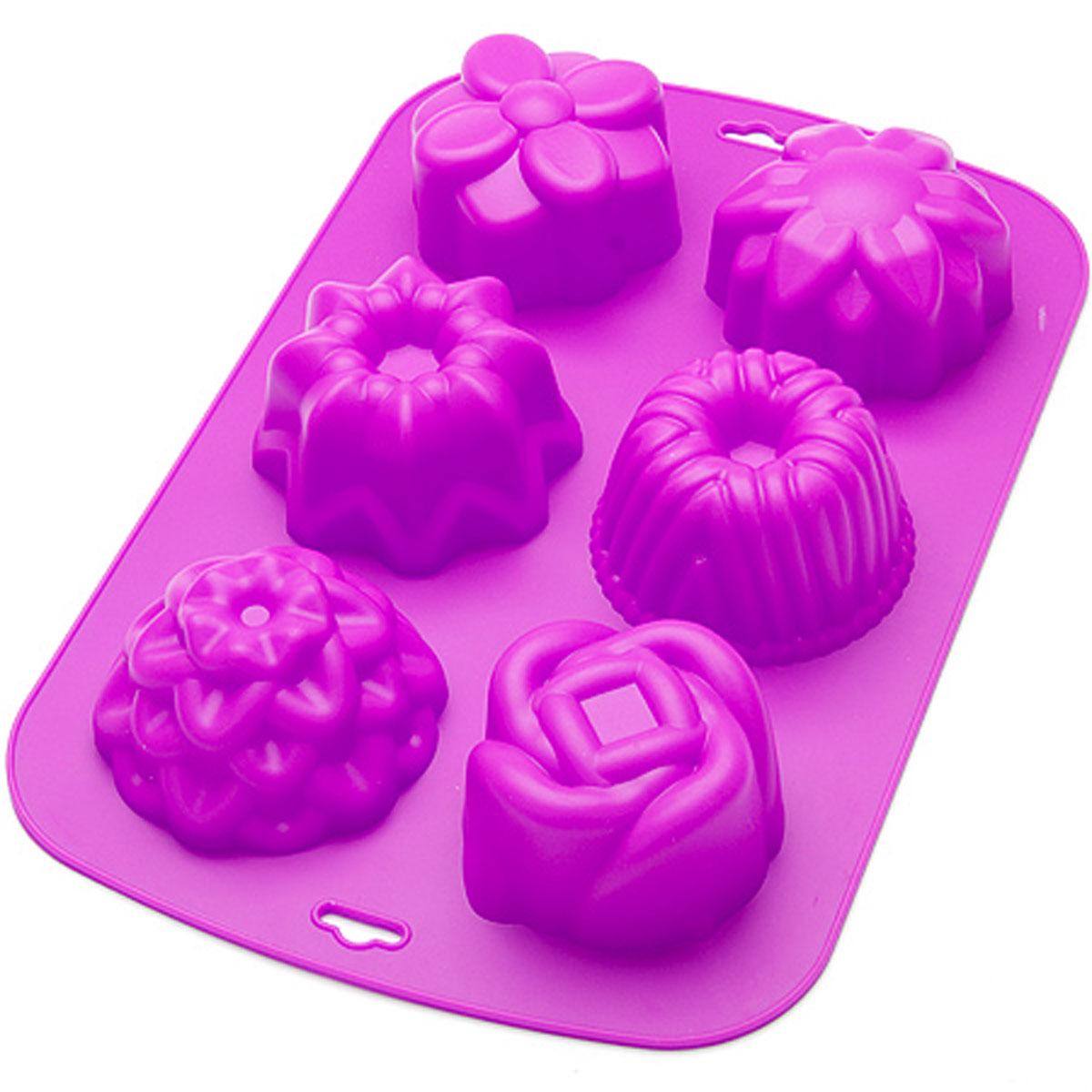 24635 Форма для выпечки 33,5х21см силикон МВ (х24)24635Форма для выпечки Материал: силикон. Размер: 32,6 х 21,7 х 7,5 см. Средний размер одной ячейки: 8,5 х 4,5 см. Количество ячеек: 6 шт. Вес: 217 г. Форма для выпечки и заморозки Mayer & Boch выполнена из силикона и предназначена для изготовления конфет, мармелада, желе, льда и выпечки. На одном листе расположено 6 небольших ячеек различной формы. Оригинальный способ подачи изделий не оставит равнодушными родных и друзей. Силиконовые формы выдерживают высокие и низкие температуры (от -40°С до +230°С). Они эластичны, износостойки, легко моются, не горят и не тлеют, не впитывают запахи, не оставляют пятен. Силикон абсолютно безвреден для здоровья. Не используйте моющие средства, содержащие абразивы. Можно мыть в посудомоечной машине. Формы для выпечки и заморозки Mayer & Boch - отличный подарок! Они удобны и необходимы любой хозяйке!