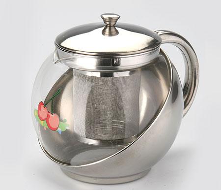 Чайник заварочный Mayer & Boch Apple, с фильтром, 900 мл2026Изящный и современный стиль чайника Mayer & Boch Apple прекрасно подчеркнет декор любой кухни. Стеклянный корпус и съемный фильтр из нержавеющей стали позволяют быстро и легко очистить чайник. Может быть использован для подачи как горячих, так и холодных напитков. Простой и удобный чайник Mayer & Boch Apple послужит великолепным подарком для любителей чая. Диаметр чайника (по верхнему краю): 8,5 см. Высота чайника (без учета крышки): 12 см. Высота фильтра: 7,5 см.