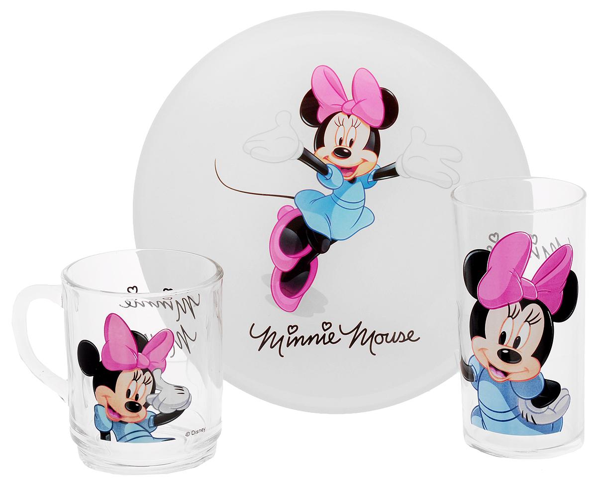 Luminarc Набор детской посуды Minnie Colors 3 предмета