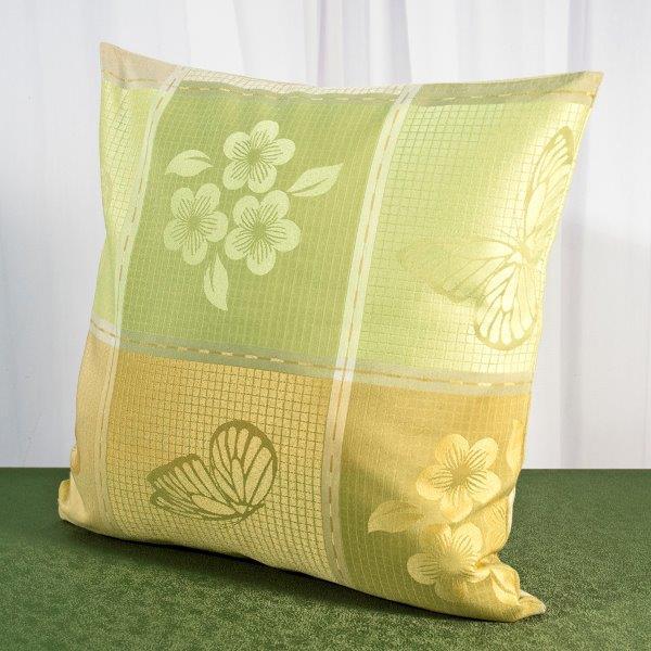 Наволочка Schaefer, 40 х 40 см 07551-50107551-501Наволочка Schaefer, выполненная из плотного полиэстера с водоотталкивающей пропиткой, предназначена для декоративных подушек. За текстилем из полиэстера очень легко ухаживать: он легко стирается, не мнется, не садится и быстро сохнет, более долговечен, чем текстиль из натуральных волокон. Изделие декорировано красивым изображением цветов и бабочек. Застегивается на молнию. Подушка с такой наволочкой добавит в ваш дом стиля, уюта и неповторимости.