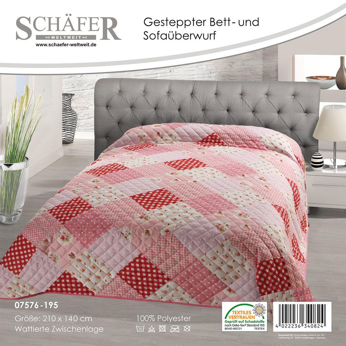 Покрывало Schaefer 220*240см, 100% полиэстер. 07576-19607576-196