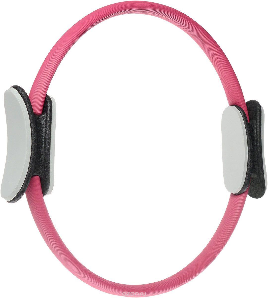 Кольцо для пилатеса Ironmaster Magic, цвет: розовый, серый, диаметр 38 смIR97603Кольцо для пилатеса Ironmaster Magic предназначено для тренировки рук, спины, груди, внутренней и внешней поверхностей бедер, голеней. Рекомендуется использовать вместе с ковриком для упражнений. Кольцо выполнено из легкой и прочной стеклоткани, покрытие - мягкая приятная на ощупь резина. Валики из высококачественного непористого материала. Кольцо подойдет спортсменам любого возраста с любым уровнем подготовки.