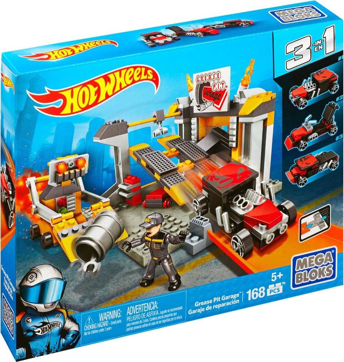 Mega Bloks Hot Wheels Конструктор-набор коллекционных машинок Bone Shaker