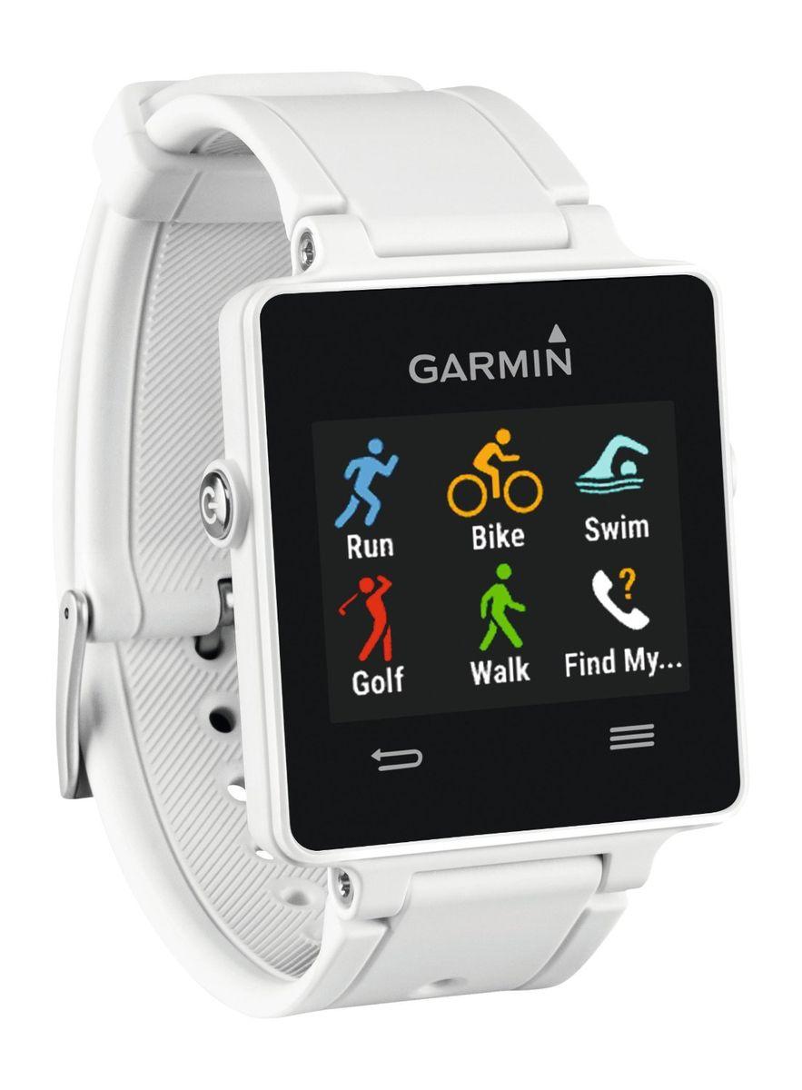 Смарт-часы Garmin vivoactive White HRM (пульсометр) (010-01297-11)