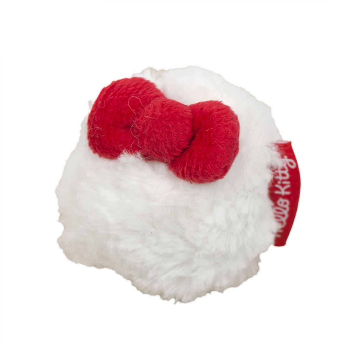 Игрушка для собак Hello Kitty Меховой мяч, диаметр 8 см6012Игрушка для собак Hello Kitty Меховой мяч обязательно понравится вашему питомцу. Игрушка выполнена из пластика и мехового текстиля, украшена красным бантиком. Игрушка подходит для щенков и собак некрупных пород.