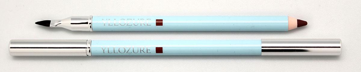 Yllozure Контурный карандаш для губ водоустойчивый, тон 04, 1,4 гр0404Мягкий грифель карандаша легко скользит по коже, оставляя яркую, чистую линию, высокой точности, которая в течение всего дня сохраняет идеальную форму губ.