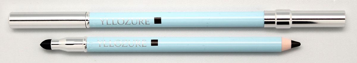 Yllozure Контурный карандаш для век водостойкий, тон 01, 1,4 гр0501Элегантный карандаш в полимерном футляре классического дизайна плавно скользит по коже, оставляя мягкий, но яркий след, устойчивый к воздействию влаги. За счет включения в формулу микроскопических переливающихся частиц, глаза, подведенные этим карандашом, приобретают не только четкий контур, но и изысканный бриллиантовый блеск. Специальные гидрофобные вещества, входящие в состав грифеля этого карандаша, отталкивают молекулы воды, не позволяя ей растворять красящие пигменты и размывать границы контура.Все компоненты устойчивой формулы карандаша Contour des Yeux Waterproof обладают низкой степенью аллергенной активности и не вызывают раздражения слизистых оболочек, поэтому карандаш может использоваться для подводки внутреннего века и при очень чувствительной коже глаз. Корпус карандаша выполнен из современного полимерного материала, великолепно сохраняющего его свойства. Он надёжно защищает грифель от высыхания, механических повреждений, и воздействия температур. Карандаш дополнительно...