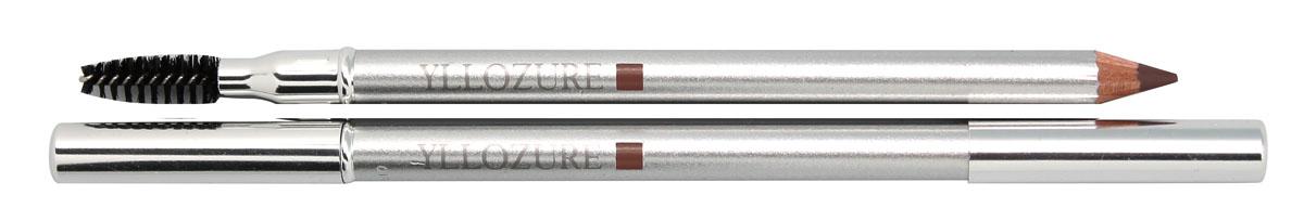 Yllozure Контур для бровей и век WET&DRY, тон 12, 1,4 гр0612Карандаш для бровей и век – это уникальная разработка специалистов французской компании Yllozure, которая представляет собой специальный карандаш двойного действия, предназначенный для прорисовки и тонирования контура бровей. Благодаря особой формуле, лежащей в основе, карандаш одинаково хорош как во влажном, так и в сухом виде. Увлажненный грифель карандаша Yllozure оставляет яркий стойкий цвет, а сухой – тонирует бровь, слегка подчеркивая ее форму. Входящие в состав карандаша витаминные добавки и смягчающие масла заметно улучшают структуру волосков, делая ваши брови восхитительно гладкими, мягкими и блестящими. Очень нежный грифель карандаша позволяет использовать его для подводки глаз. Помимо традиционного грифеля, карандаш имеет еще одну рабочую поверхность – миниатюрную щеточку, предназначенную для расчесывания ресниц и бровей. Благодаря карандашу Yllozure ваши брови приобретут безупречный ухоженный вид и станут удивительно мягкими, блестящими и гладкими.