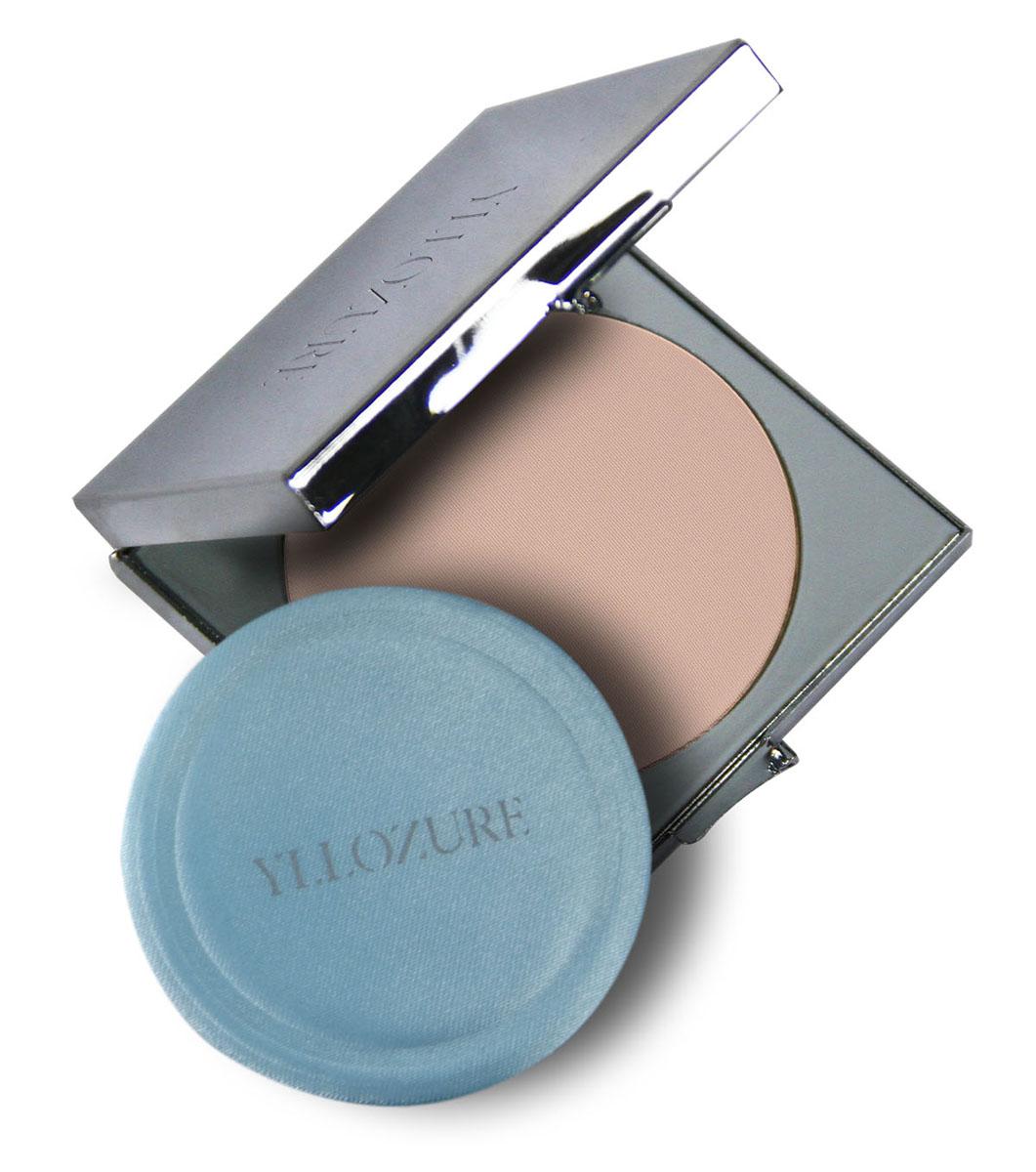 Yllozure Пудра компактная VELOUTEE, тон 01, 10 гр4201Пудра компактная Велутэ - бархатная кожа, обладает нежной, бархатистой структурой, обеспечивающей легко нанесение и великолепное покрытие, надежно и качественно скрывающее пигментацию и небольшие недостатки кожи.Прессованная пудра имеет в составе комплекс светоотражающих пигментов, которые придают мягкое свечение коже и эффект ее свечения, благодаря способности рассеивать прямые лучи света.Она долго держится, не осыпается, сохраняет привлекательный внешний вид вашей кожи на весь день.Пудра обладает выравнивающими свойствами, маскирует мелкие недостатки, придает коже естественный вид и ровный тон