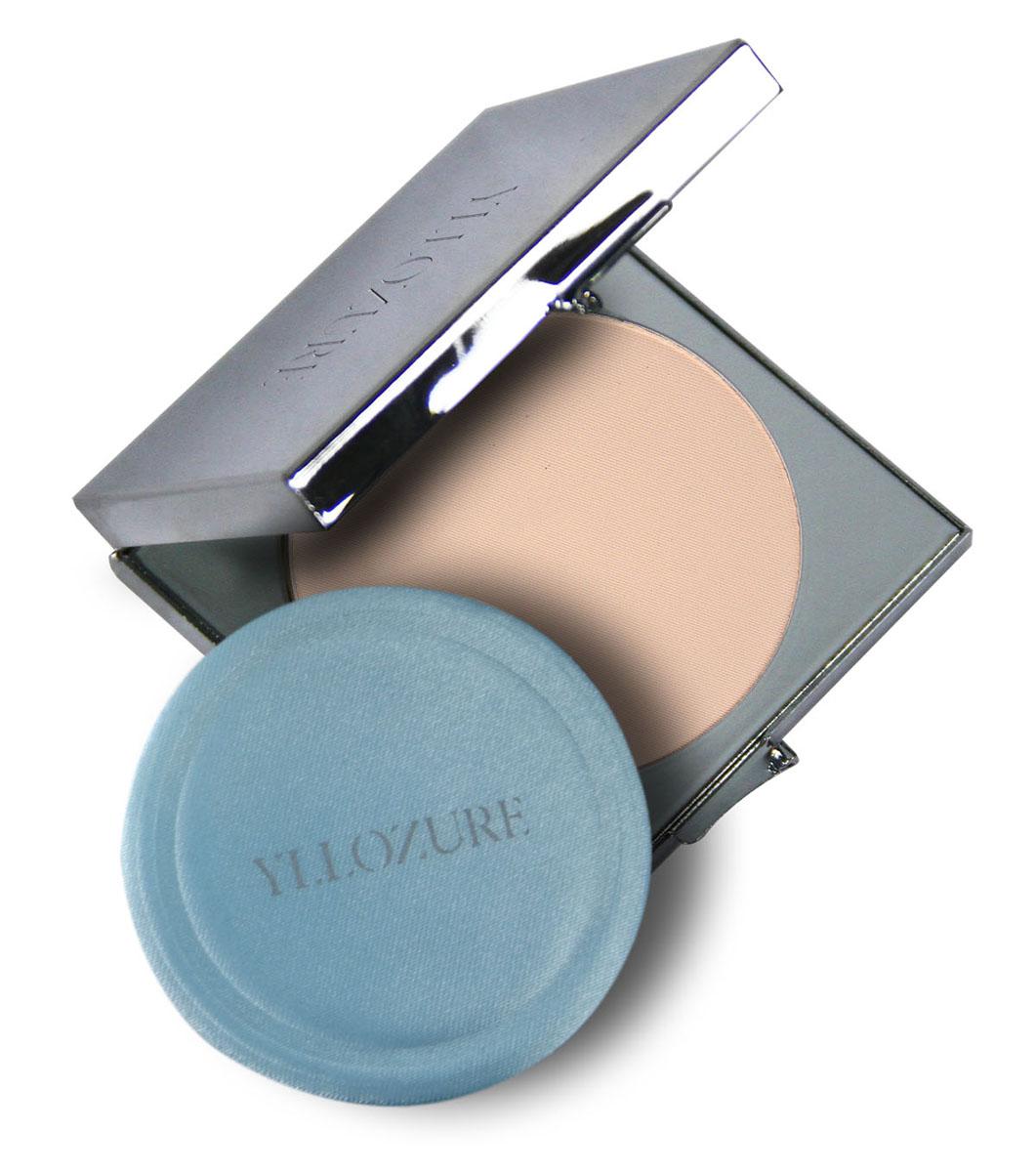 Yllozure Пудра компактная VELOUTEE, тон 03, 10 гр4203Пудра компактная Велутэ - бархатная кожа, обладает нежной, бархатистой структурой, обеспечивающей легко нанесение и великолепное покрытие, надежно и качественно скрывающее пигментацию и небольшие недостатки кожи.Прессованная пудра имеет в составе комплекс светоотражающих пигментов, которые придают мягкое свечение коже и эффект ее свечения, благодаря способности рассеивать прямые лучи света.Она долго держится, не осыпается, сохраняет привлекательный внешний вид вашей кожи на весь день.Пудра обладает выравнивающими свойствами, маскирует мелкие недостатки, придает коже естественный вид и ровный тон