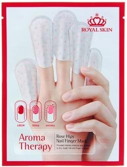 Royal Skin Маски для блеска и роста ногтей Aromatherapy625089Восстанавливающая маска для ослабленных ногтей! Маска интенсивно увлажняет поврежденные ногти, укрепляет и придает им здоровый вид. Способствует здоровому росту ногтевой пластины