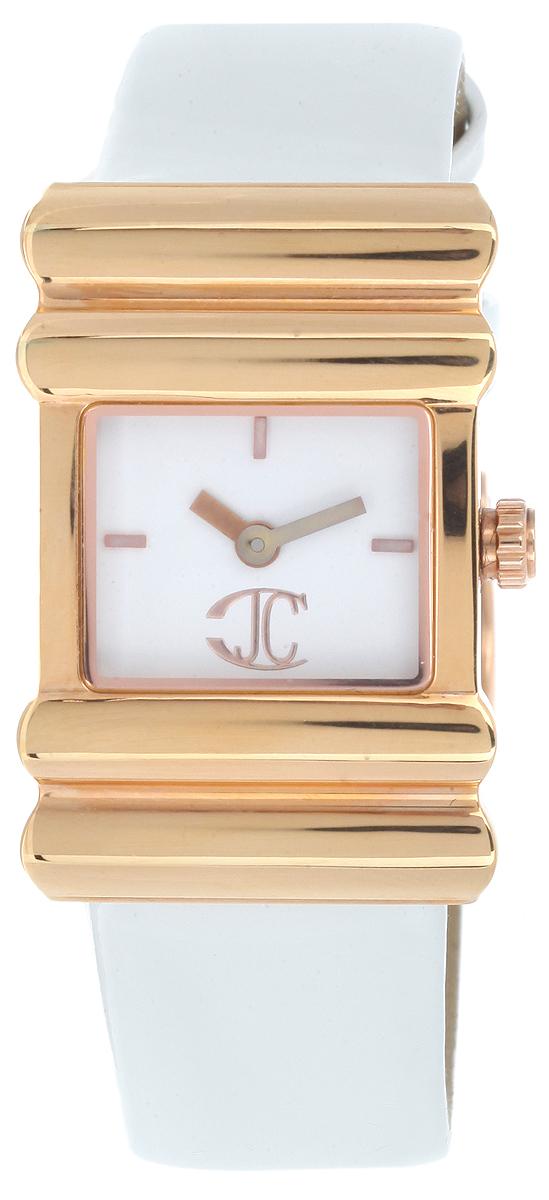 Часы женские наручные Just Cavalli, цвет: белый, золотой. 7251 131 5457251131545Оригинальные женские часы Just Cavalli выполнены из нержавеющей стали, натуральной кожи и минерального стекла. Изделие дополнено символикой бренда. Корпус часов выполнен из нержавеющей стали, дополнен минеральным стеклом и имеет степень влагозащиты равную 3 atm. Ремешок дополнен практичной пряжкой, которая позволит моментально снимать и одевать часы без лишних усилий. Часы поставляются в фирменной упаковке. Часы Just Cavalli подчеркнут изящность женской руки и отменное чувство стиля у их обладательницы.