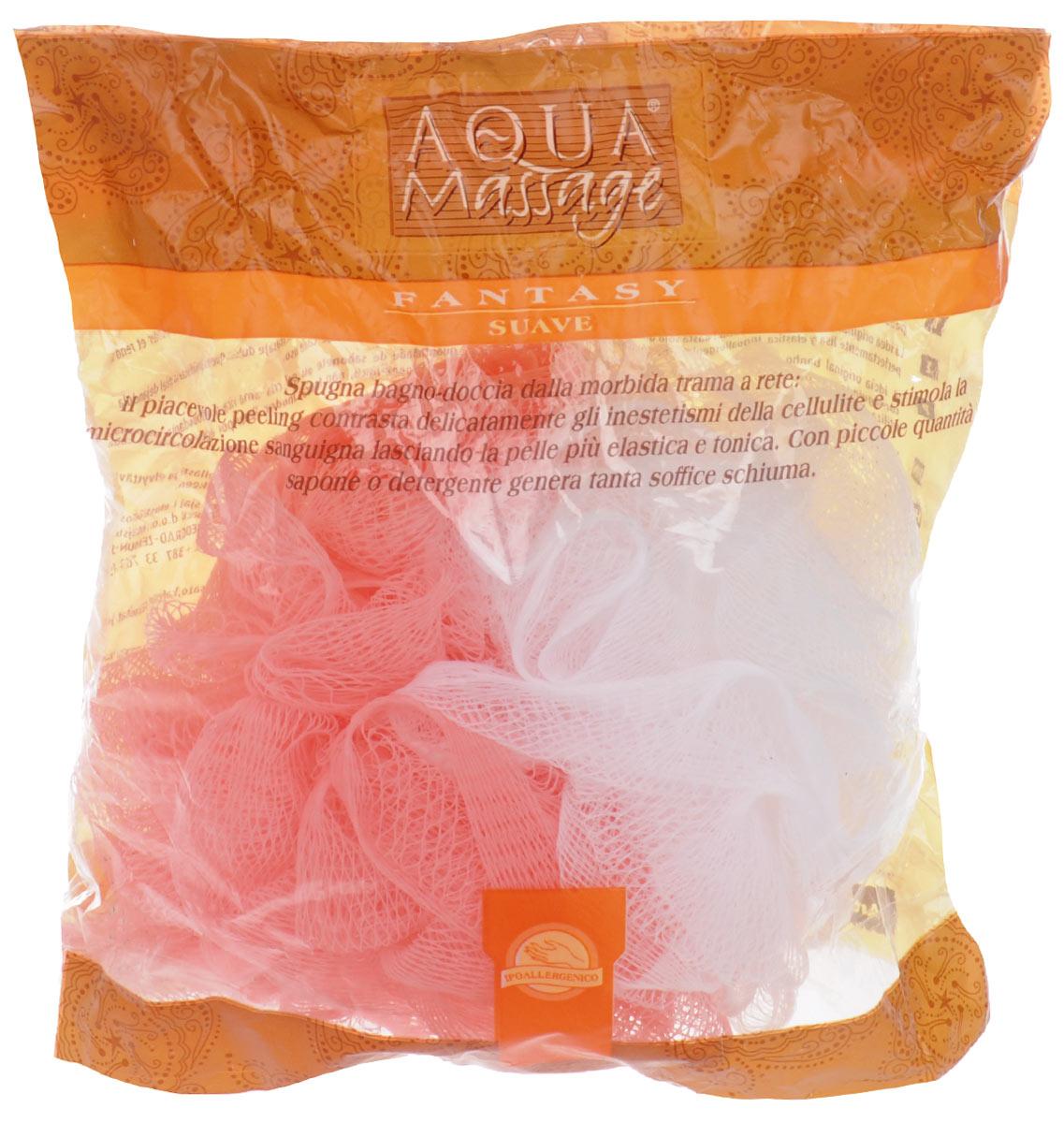 Мочалка Arix, с массажным эффектом, цвет: розовый, белый, 15 см х 12 см х 17 смAR958_розовый, белыйМочалка Arix изготовленная из синтетических волокон, превосходно массажирует, тонизирует и очищает кожу без раздражения. Делает ее эластичной и гладкой. Используется даже с минимальным количеством мыла, образуя много пены. Изделие оснащено петелькой для удобного подвешивания в ванне.