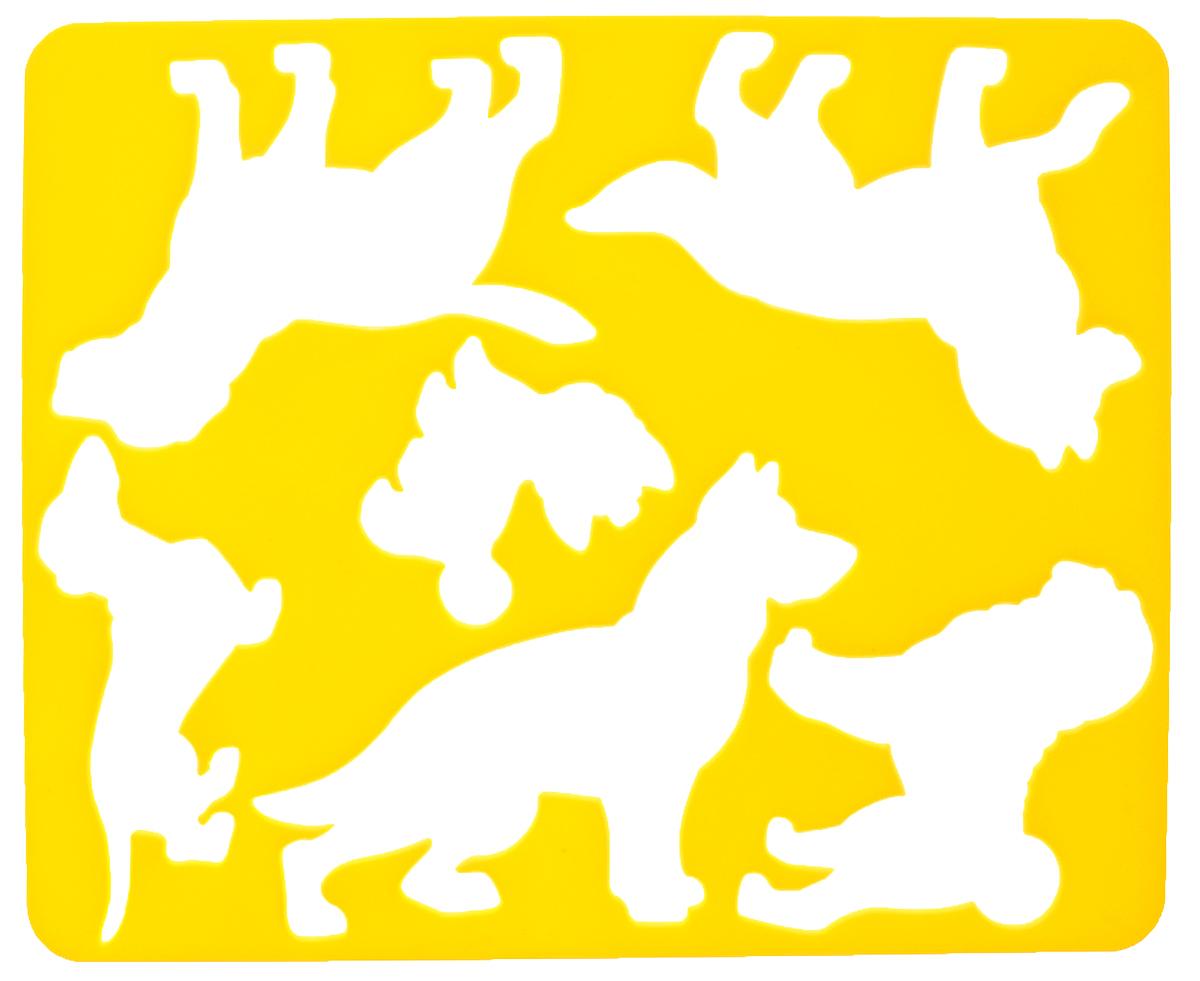 Луч Трафарет прорезной Породы собак №29С 489-08_желтый, вид 2Трафарет Луч Породы собак, выполненный из безопасного пластика, предназначен для детского творчества. По трафарету маленький художник сможет нарисовать различные породы собак и сюжетные картинки с ними. Для этого необходимо положить трафарет на лист бумаги, обвести фигуру по контуру и раскрасить по своему вкусу или глядя на цветную картинку-образец. Трафареты предназначены для развития у детей мелкой моторики и зрительно- двигательной координации, навыков художественной композиции и зрительного восприятия.
