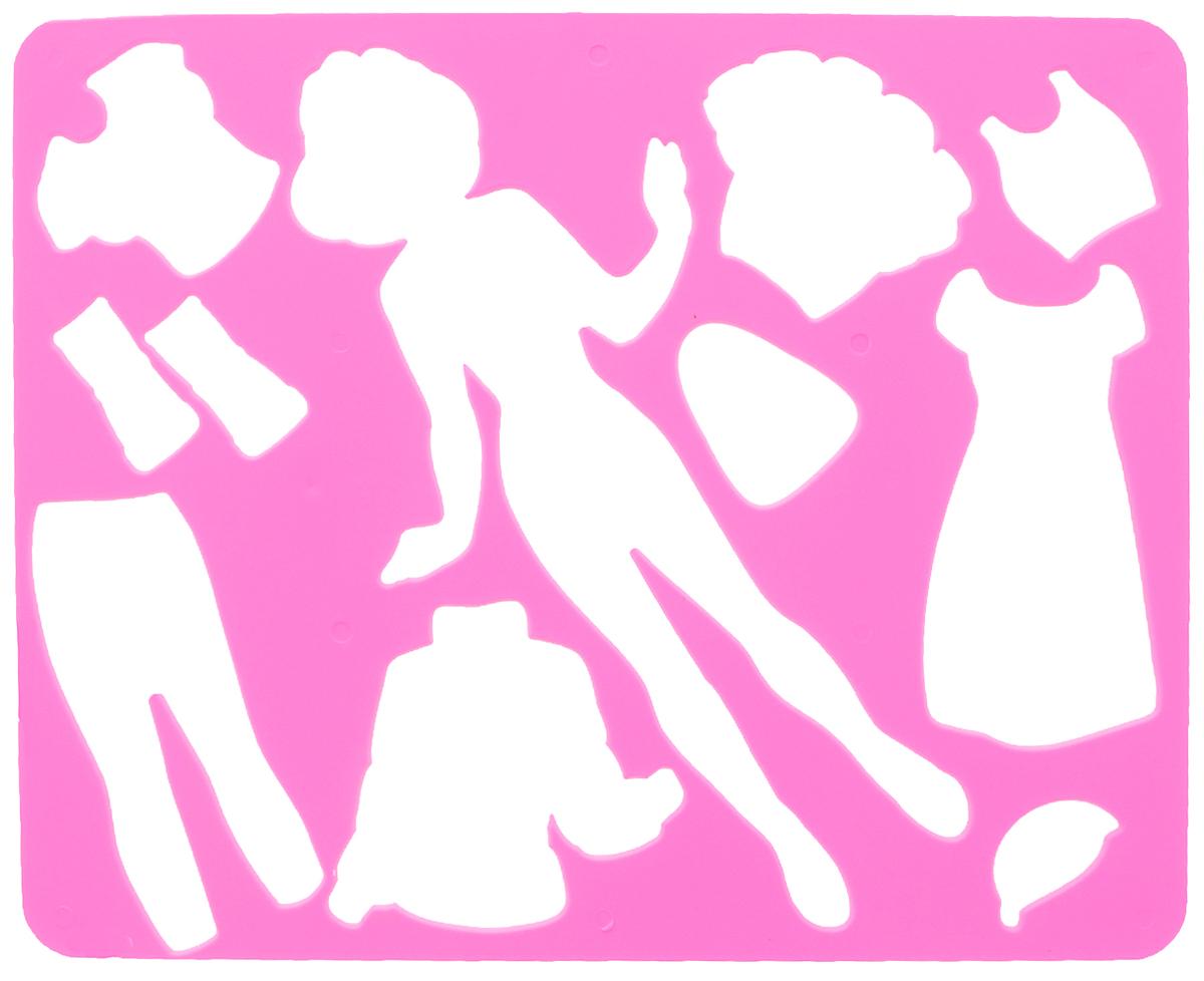 Луч Трафарет прорезной Катин гардероб №210С 529-08_розовый, вид 2Трафарет фигурный Луч Катин гардероб, выполненный из безопасного пластика, предназначен для детского творчества. При помощи этого трафарета ваша дочурка сможет нарисовать и вырезать бумажную куколку Катю и целый гардероб одежды для нее. Трафарет можно использовать для рисования отдельных персонажей и композиций, а также для изготовления аппликаций. Трафареты предназначены для развития у детей мелкой моторики и зрительно-двигательной координации, навыков художественной композиции и зрительного восприятия.