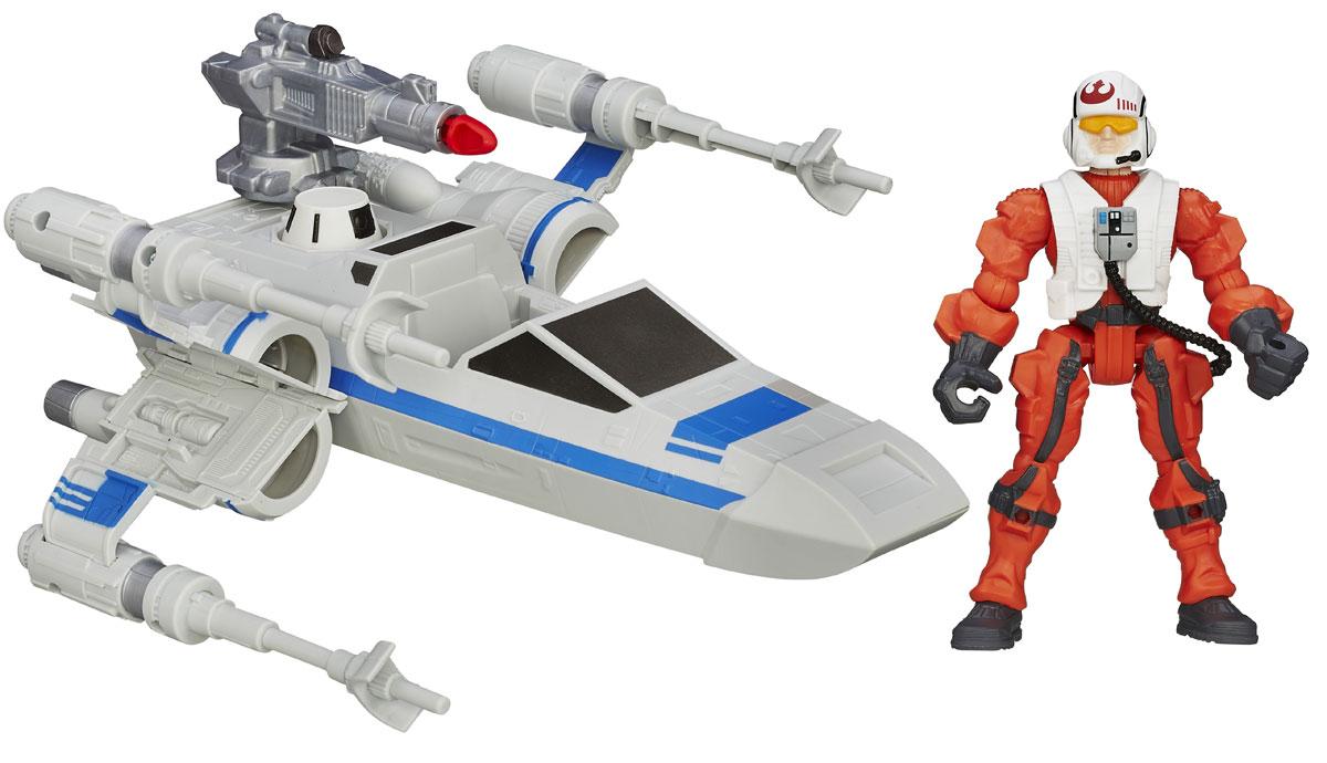 Star Wars Игровой набор Resistance X-Wing & Resistance PilotB3701_B3702Создай свой галактический флот с культовыми космическими кораблями из нового эпизода Звёздных Войн. Каждая игрушка содержит космическое средство 2 в 1, которое позволяет превратить космический корабль в космоход, а также стилизованную фигуру, части которой могут быть присоединены к другим фигурам из линейки Hero Mashers. Создай своего уникального героя вселенной Звездные Войны!