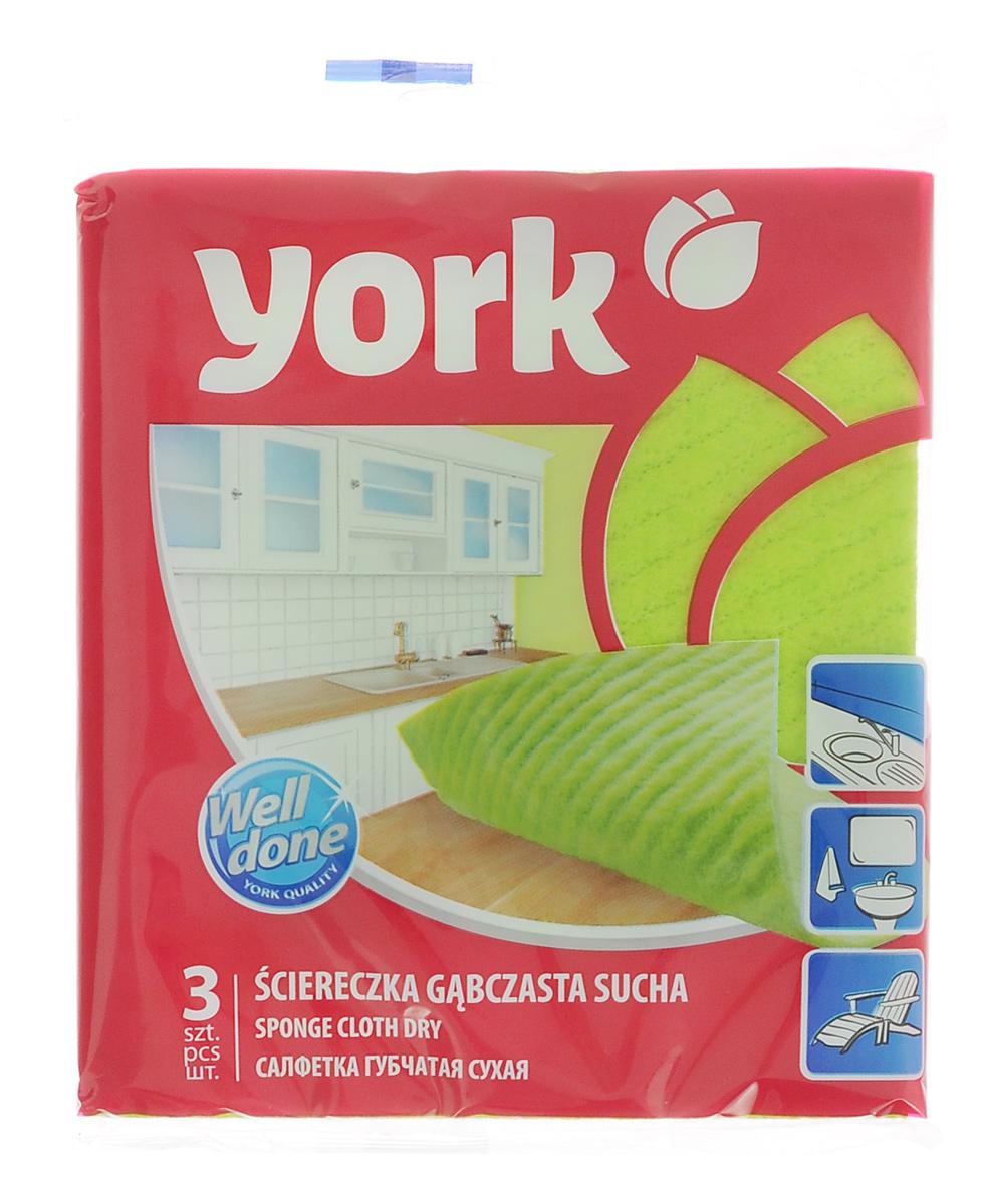 Салфетка губчатая York Мамбо, 17,5 х 15,5 см, 3 шт2404Салфетка York Мамбо, изготовленная из вискозы, полиэстера и поролона, может поглощать количество пыли и влаги, в 7 раз превышающее ее собственный вес. Многочисленные поры между микроволокнами, благодаря капиллярному эффекту, мгновенно впитывают воду, подобно губке. Благодаря мелким порам микроволокна, любые капельки, остающиеся на чистящей поверхности очень быстро испаряются и остается чистая дорожка без полос и разводов. Размер салфетки: 17,5 см х 15,5 см.
