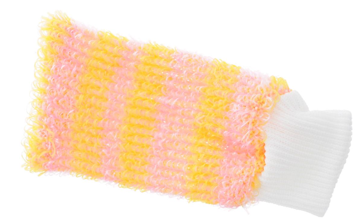 Мочалка Eva Рукавица, цвет: желтый, розовый, белый, 11 см х 22 смМ38 _желтый, розовый, белыйМочалка Eva Рукавица станет незаменимым аксессуаром ванной комнаты. Она отлично очищает кожу, создает обильную пену, быстро сохнет, не требует ухода, существенно экономит моющие средства, а также имеет длительный срок службы. Обладает эффектом скраба - кожа становится чистой, упругой и свежей. Идеально подходит для профилактики и борьбы с целлюлитом.