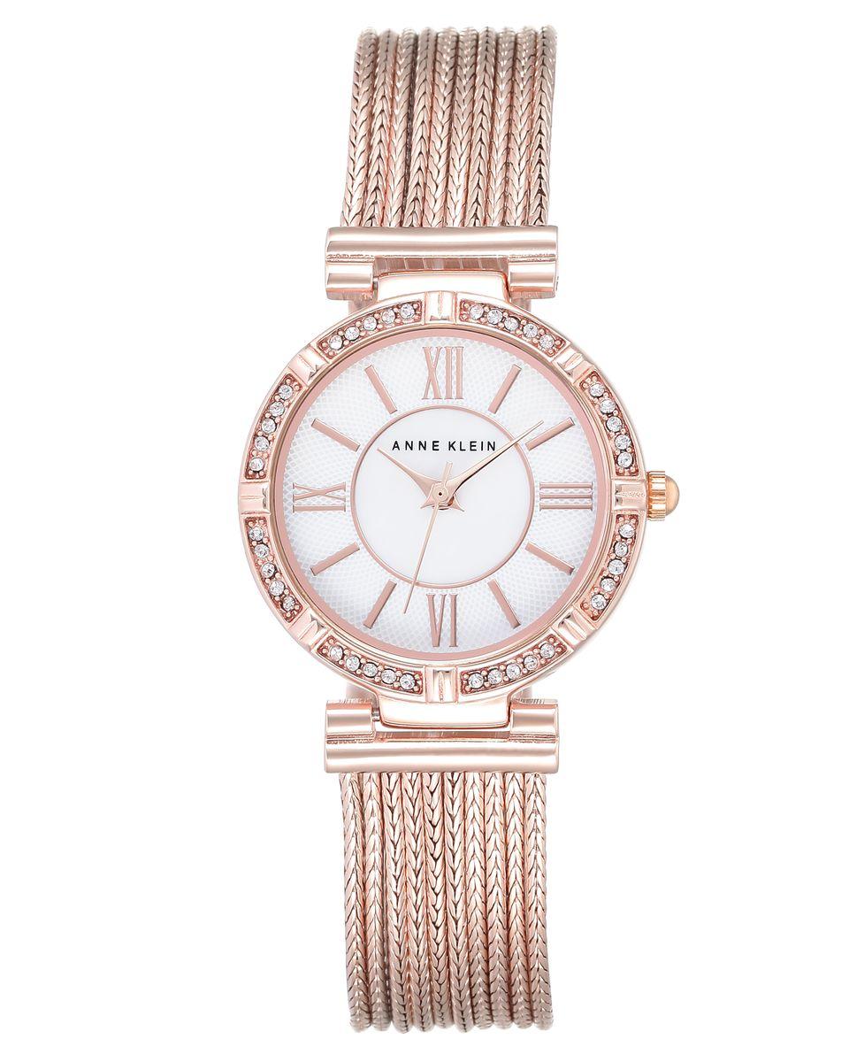 Часы наручные женские Anne Klein, цвет: белый, золотой. 2144MPRG