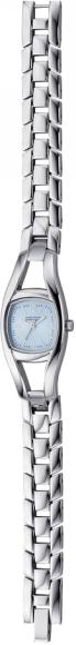 Наручные часы женские Benetton, цвет: стальной. 7453122525NEXTLADY3H.L.BLUED.7453122525NEXTLADY3H.L.BLUED.Механизм: кварцевый, Стекло: минеральное, Браслет: стальной, Водозащита: 3 АТМ Корпус: стальной