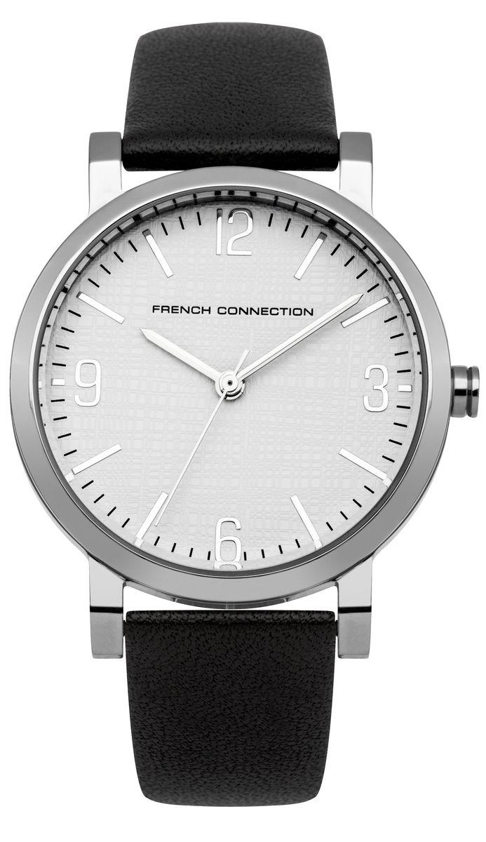 Часы наручные женские French Connection , цвет: стальной, черный. FC1249BFC1249BЭлегантные женские часы French Connection выполнены из нержавеющей стали, натуральной кожи и минерального стекла. Циферблат часов дополнен символикой бренда. Корпус часов оснащен кварцевым механизмом, имеет степень влагозащиты равную 3 atm, а также дополнен устойчивым к царапинам минеральным стеклом. Ремешок часов оснащен классической пряжкой, которая позволит с легкостью снимать и надевать изделие. Часы поставляются в фирменной упаковке. Часы French Connection подчеркнут изящность женской руки и отменное чувство стиля у их обладательницы.