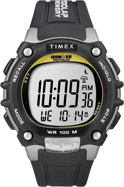 Наручные часы мужские Timex, цвет: серый. T5E231T5E231Корпус 44мм, ремешок из прочного силикона, таймер 100 laps, таймер обратного отсчета, будильник, водозащита 10АТМ, подтсветка INDIGLO