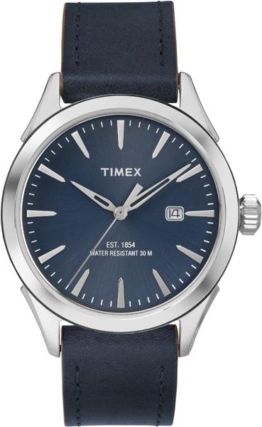 Наручные часы мужские Timex, цвет: синий, серый. TW2P77400