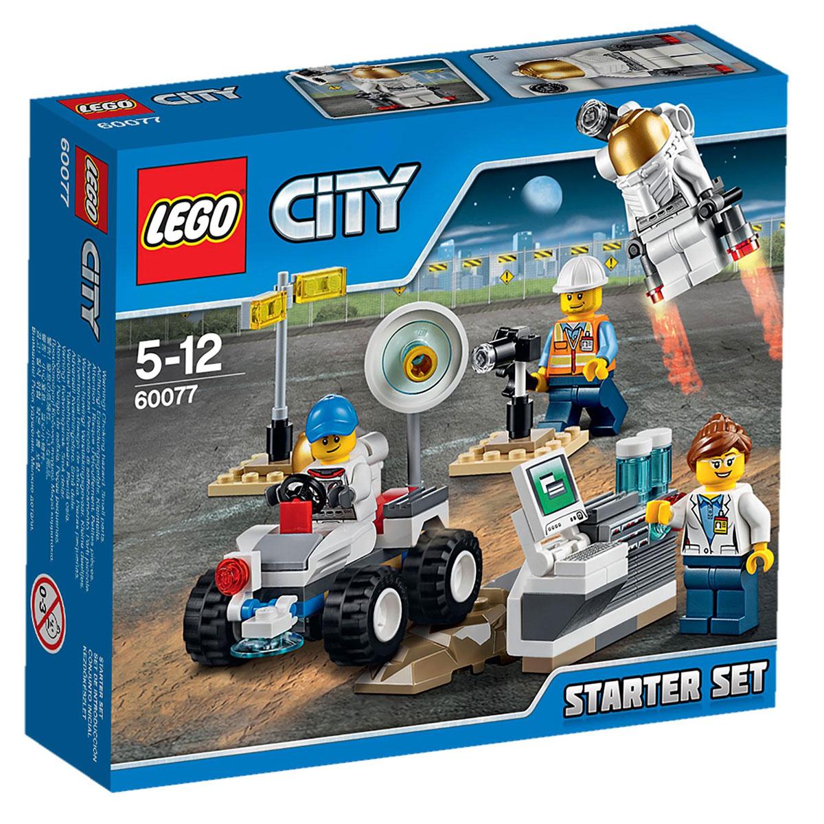 LEGO City Конструктор Космос 6007760077Присоединяйся к космической команде в испытательной лаборатории с набором для начинающих Lego City Космос! Помоги инженеру затянуть гайки и болты и проверить инфракрасную камеру и функцию бурения на марсоходе, прежде чем отправить его на тест-драйв по смоделированной поверхности Марса. Помоги космонавту проверить реактивный ранец, а затем присоединяйся к ученым на компьютерной станции, чтобы изучить результаты. И это всего один день работы космической команды Lego City! В набор входят 4 минифигурки с разнообразными аксессуарами: учёный, инженер и 2 космонавта. В процессе игры с конструкторами LEGO дети приобретают и постигают такие необходимые навыки как познание, творчество, воображение. Обычные наблюдения за детьми показывают, что единственное, чему они с удовольствием посвящают время, - это игры. Игра - это состояние души, это веселый опыт познания реальности. Играя, дети создают собственные миры, осваивают их, восстанавливают прошедшие и будущие события через...