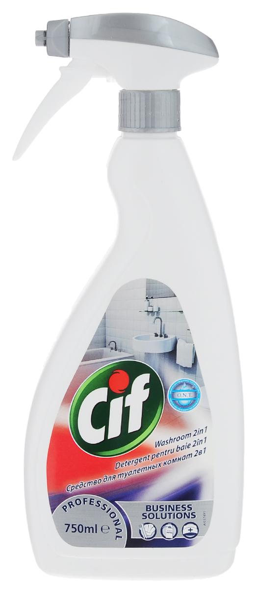 Чистящее средство для туалетных комнат Cif Professional, 750 мл7518676Чистящее средство Cif Professional предназначено для чистки ванн, душевых кабин. раковин, унитазов, хромированных пластиковых и керамических поверхностей и поверхностей из нержавеющей стали. Оно удаляет накипь, отложения, грязь и остатки мыла, обеспечивая блестящий результат и оставляя длительный свежий аромат. А благодаря дозатору-распылителю средство быстро и равномерно распределяется по очищаемой поверхности. Состав: лимонная кислота, алкоголь (С 13) этоксилат (8-9ЕО). Товар сертифицирован.