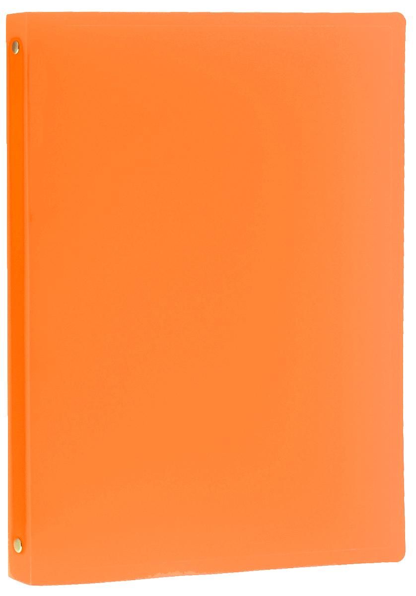 Erich Krause Папка-файл на 4 кольцах цвет оранжевый