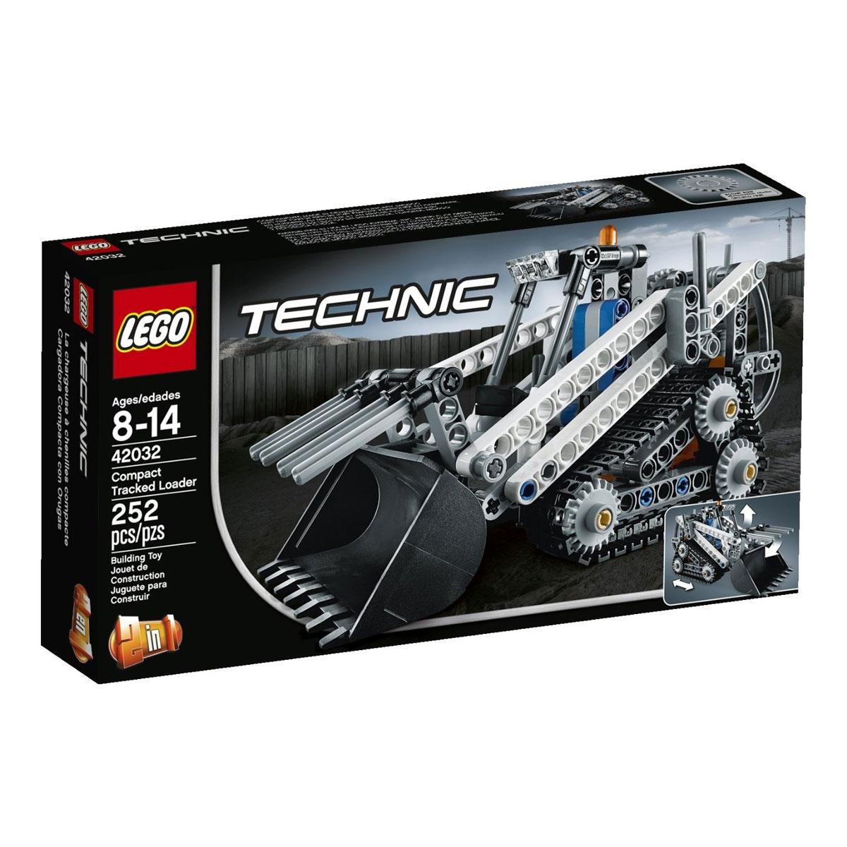 LEGO Technic Конструктор Гусеничный погрузчик 42032