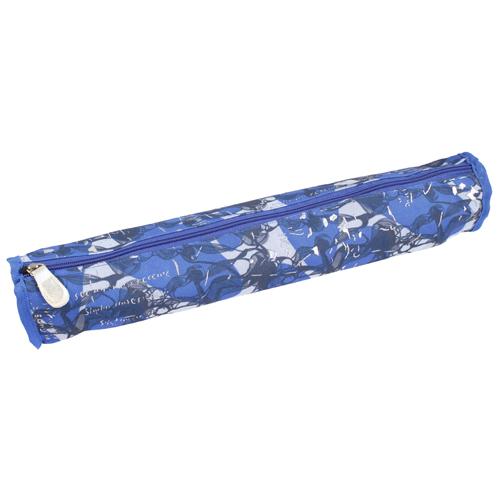 890505 Футляр для хранения вязальных принадлежностей, 40*6см, синий