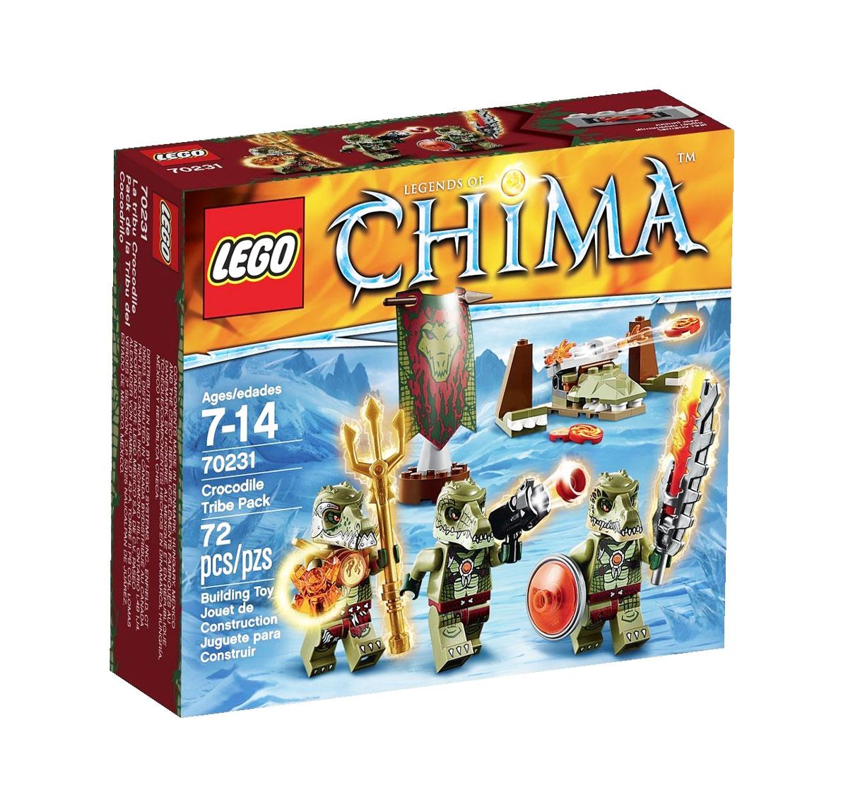LEGO Legends of Chima Конструктор Лагерь Клана Крокодилов 70231