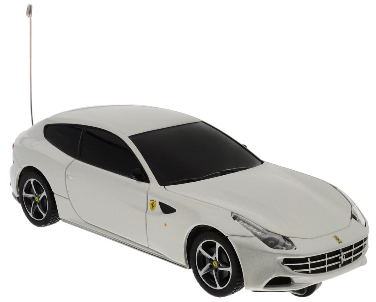 Rastar Радиоуправляемая модель Ferrari FF цвет серый масштаб 1:3250500_серыйРадиоуправляемая модель Rastar Ferrari FF станет отличным подарком любому мальчику! Это точная копия настоящего авто в масштабе 1:32. Возможные движения: вперед, назад влево. Пульт управления работает на частоте 40 MHz. Для работы игрушки необходимы 2 батарейки типа АА (не входят в комплект). Для работы пульта управления необходимы 2 батарейки типа АА (не входят в комплект).