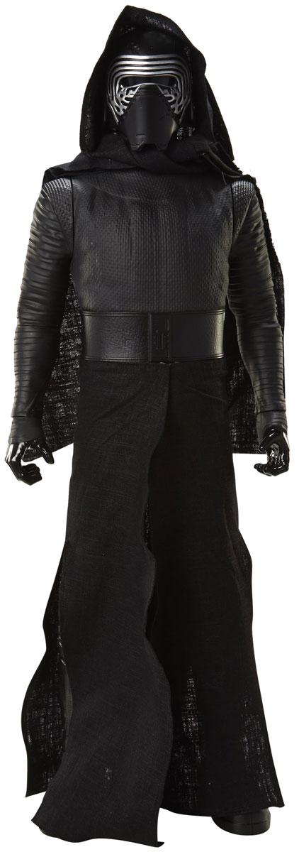 Star Wars Фигурка Кайло Рен908230Фигурка Star Wars Кайло Рен выполнена в виде персонажа 7 эпизода фантастической киноэпопеи Звездные Войны. Фигурка изготовлена из качественного цветного пластика, имеет подвижные голову и руки. Герой облачен в черную текстильную накидку и вооружен легендарным световым мечом. Фигурка понравится как детям, так и взрослым коллекционерам, она станет отличным сувениром или займет достойное место в коллекции любого поклонника знаменитой космической саги.