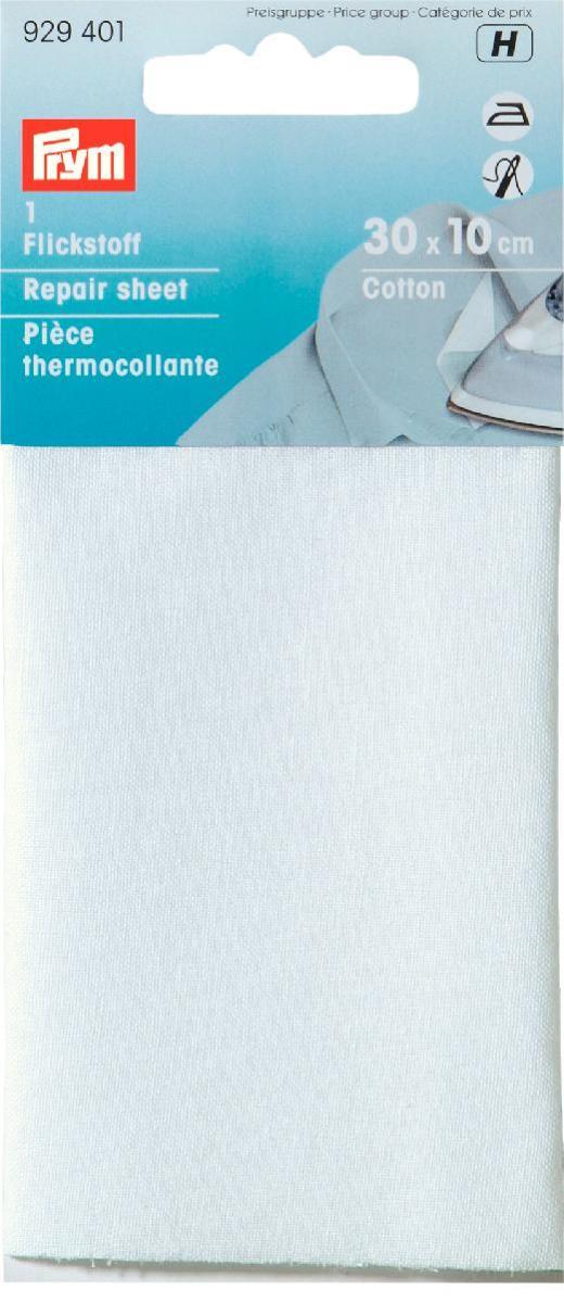 929401 Заплатка , хлопок, термоклеевая 30x10 см белый цв. Prym