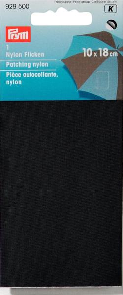 929500 Нейлоновая самоклеящаяся заплатка 18 x 10 см черный цв. Prym342587