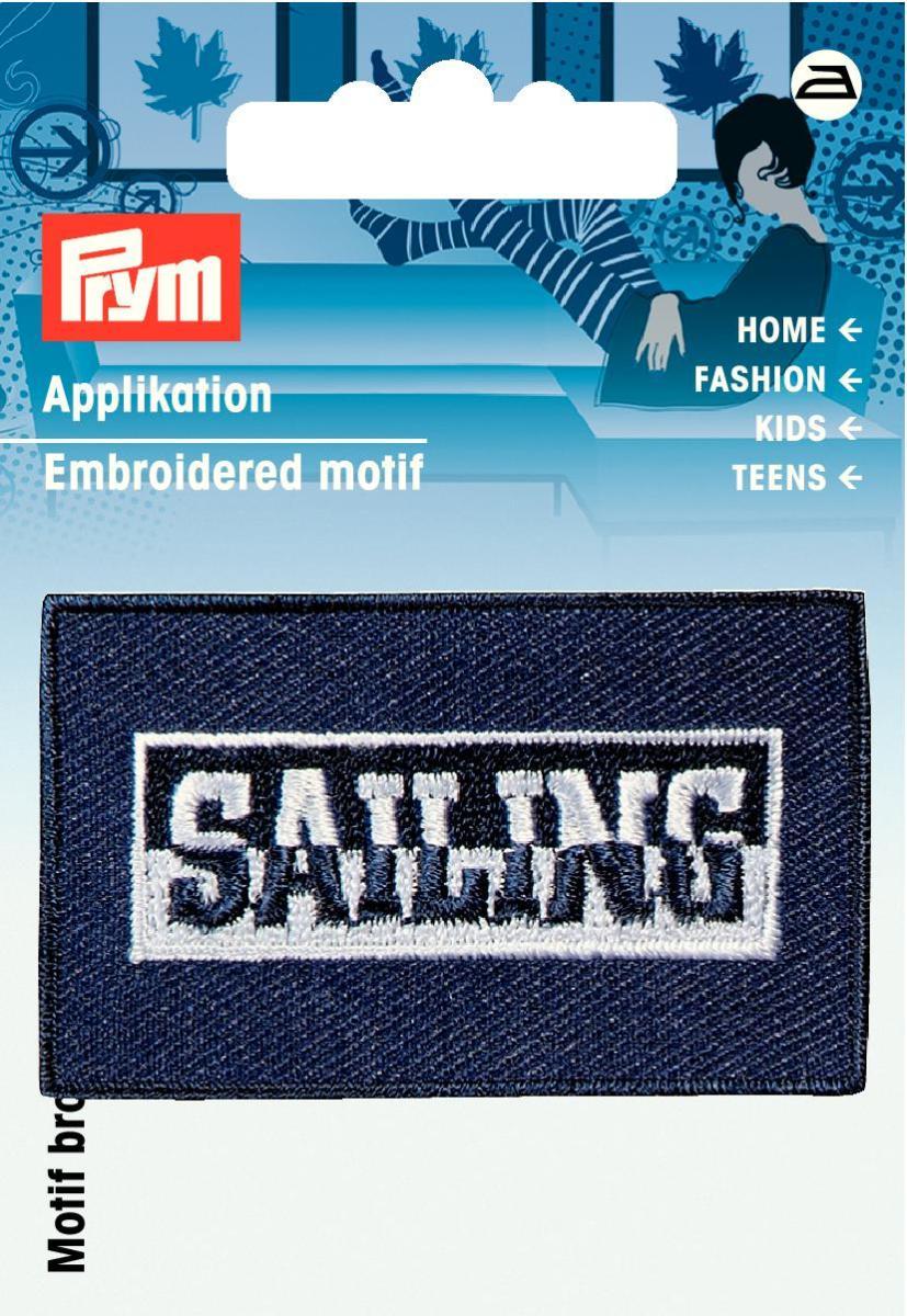 925808 Аппликация Sailing синий цв. Prym343245