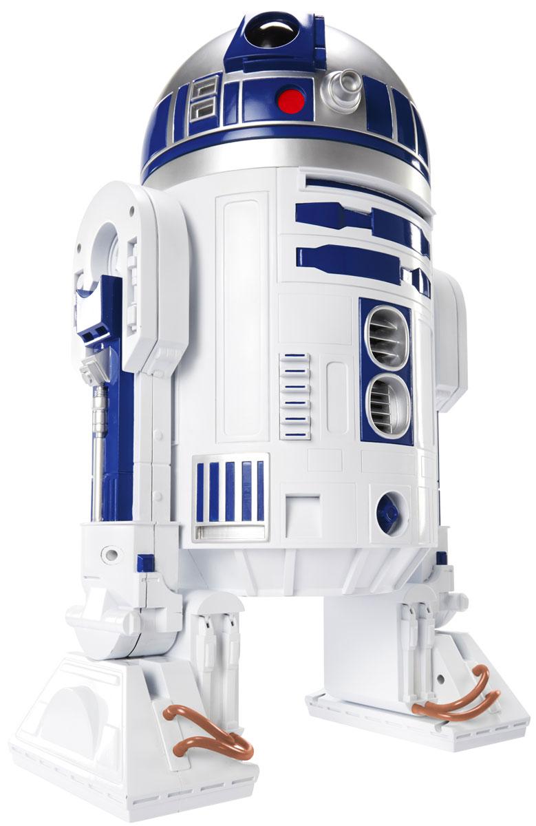Star Wars Фигурка R2-D2 46 см835770Фигурка Star Wars R2-D2 выполнена в виде персонажа 7 эпизода фантастической киноэпопеи Звездные Войны. Фигурка изготовлена из качественного цветного пластика, имеет подвижный корпус и вращающуюся голову. Фигурка понравится как детям, так и взрослым коллекционерам, она станет отличным сувениром или займет достойное место в коллекции любого поклонника знаменитой космической саги.