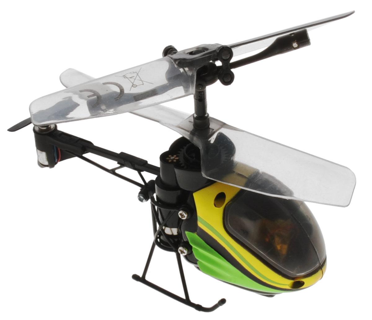 Silverlit Вертолет на радиоуправлении Nano Falcon цвет салатовый желтый