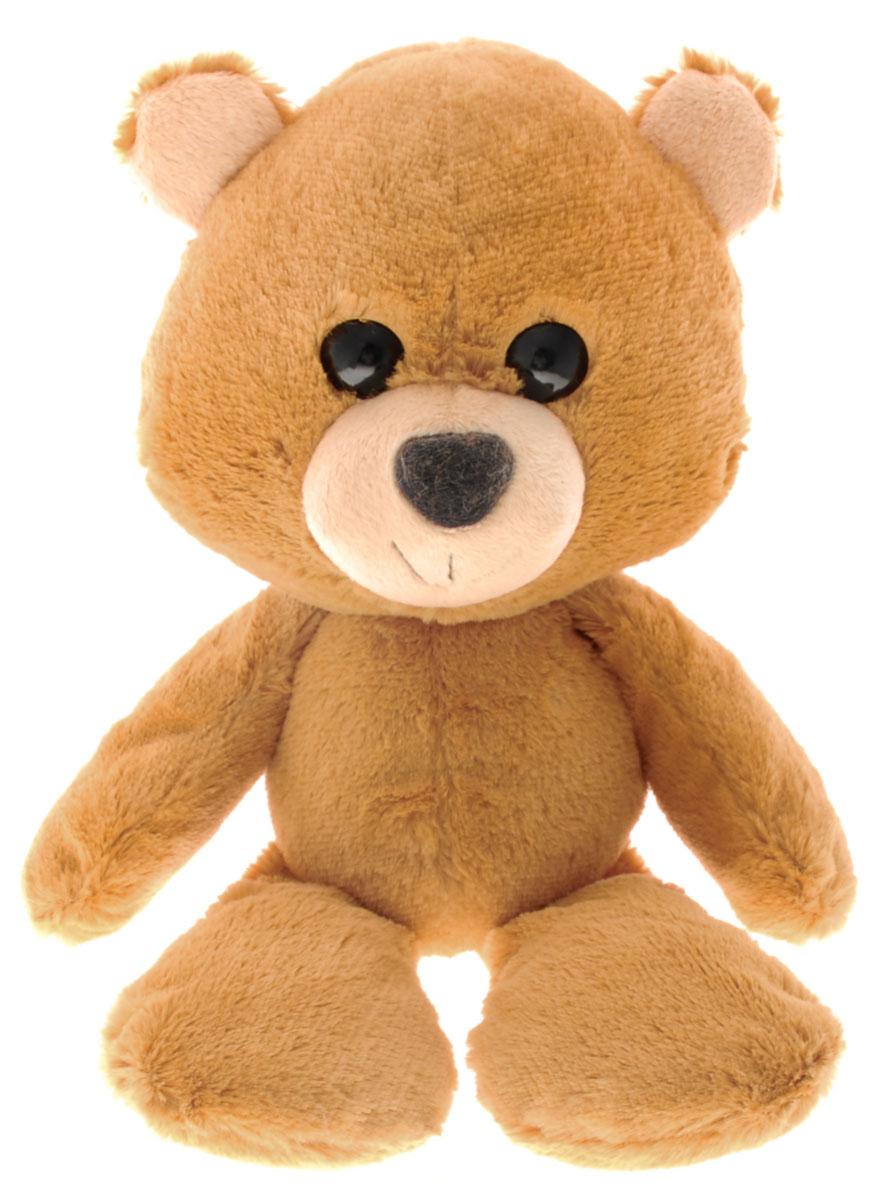 Fancy Мягкая игрушка Мишка Барри цвет светло-коричневый 22 смMBA01Мягкая игрушка Fancy Мишка Барри, выполненная в виде милого медвежонка коричневого цвета, вызовет умиление и улыбку у каждого, кто ее увидит. Игрушка изготовлена из высококачественных материалов. Удивительно мягкая игрушка принесет радость и подарит своему обладателю мгновения нежных объятий и приятных воспоминаний. Великолепное качество исполнения делают эту игрушку чудесным подарком к любому празднику.