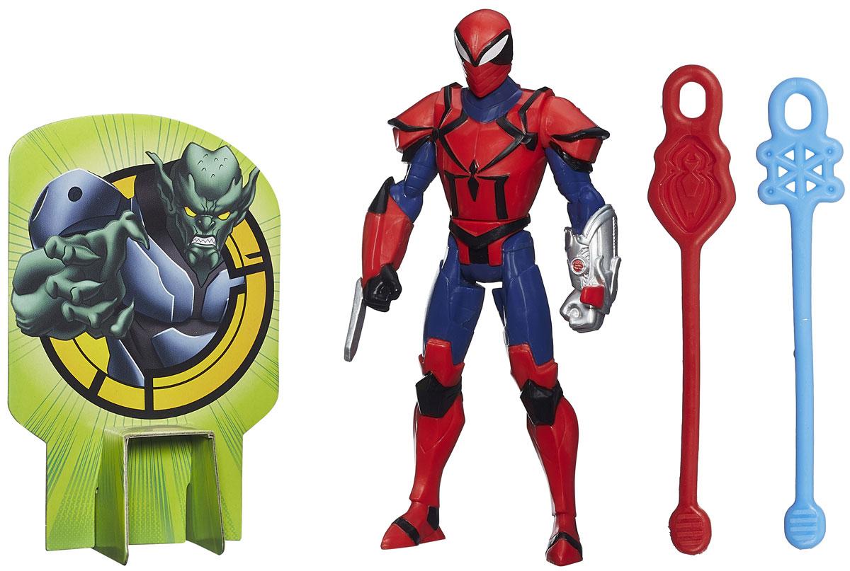 Spider-Man Фигурка Web Slingers Spyder KnightB0571EU4_B2604Фигурка Spider-Man Web Slingers: Spyder Knight привлечет внимание любого мальчишки. Фигурка выполнена из прочного высококачественного пластика в виде знаменитого супергероя Спайдер Рыцаря. Руки, ноги и голова фигурки подвижны, что позволяет придавать ей различные позы. В комплект входят два гибких снаряда с петлями, которые ребенок может запускать по принципу рогатки, зацепив петлю снаряда за специальный выступ на руке фигурке. Феи Disney - сказочные героини, которые живут в гармонии с природой, их жизнь полна захватывающих приключений и интересных открытий. Ваш ребенок часами будет играть с этой фигуркой, придумывая различные истории. Порадуйте своего ребенка таким замечательным подарком!