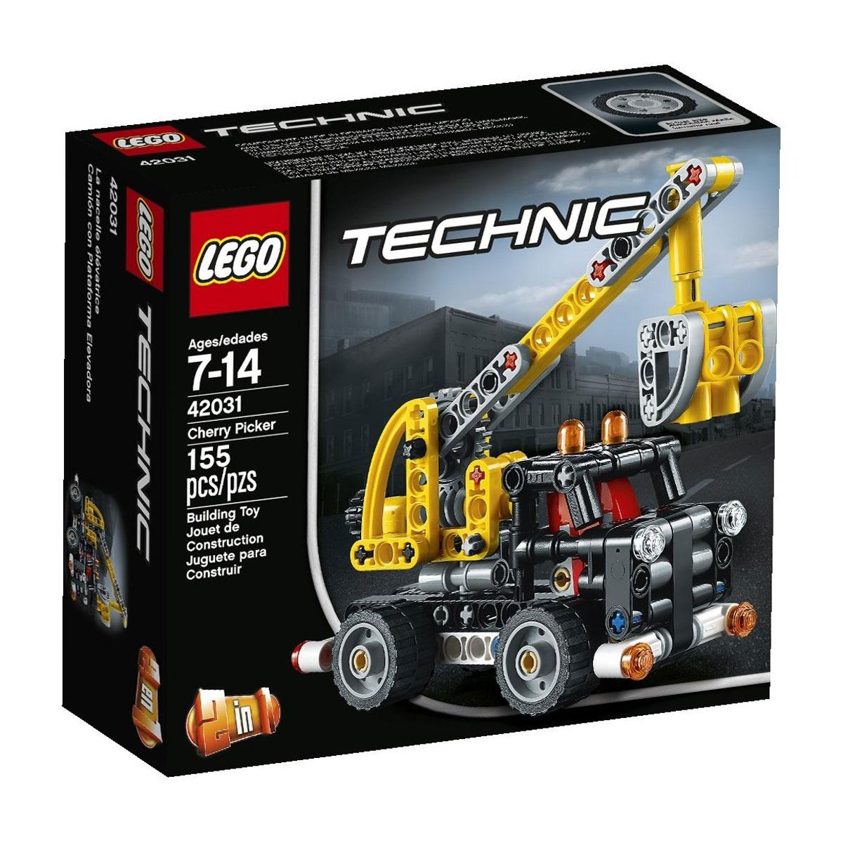 LEGO Technic Конструктор Ремонтный автокран42031Доберитесь до головокружительных высот с потрясающим автоподъемником из серии LEGO Technic! Ремонтный автокран станет незаменимым помощником на любой строительной площадке. Его массивный корпус выполнен из желто-черных деталей. Спереди видна кабина водителя с усиленной решеткой радиатора и круглыми фарами. Внутри кабины установлены ярко-красные кресла, а на крыше видны оранжевые сигнальные огни. Активная часть крана представлена рабочей стрелой и люлькой. При помощи специального вращающегося рычага, расположенного сзади, стрелу можно поднимать и опускать. Для транспортировки и эвакуации других транспортных средств автокран можно переделать в мощный тягач. Конструктор - это один из самых увлекательнейших и веселых способов времяпрепровождения. Ребенок сможет часами играть с конструктором, придумывая различные ситуации и истории. В процессе игры с конструкторами Lego дети приобретают и постигают такие необходимые навыки как познание, творчество, воображение. Обычные...