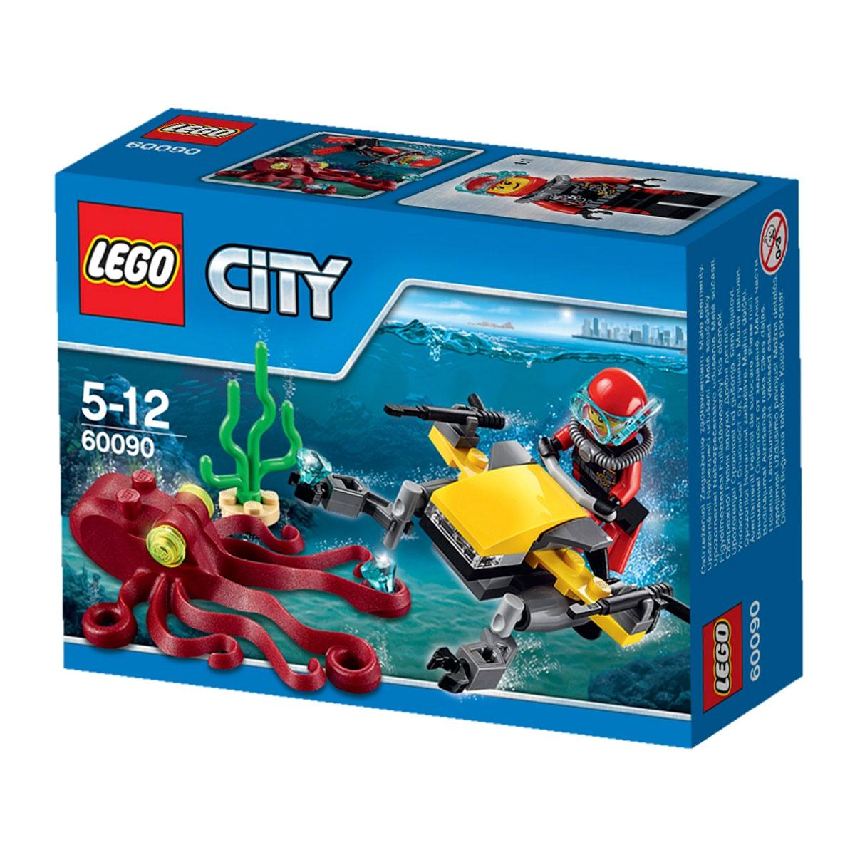 LEGO City Конструктор Глубоководный скутер 60090
